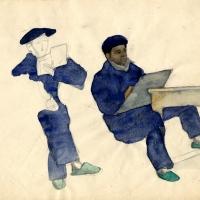 Figure-7-Mine-de-plomb-et-aquarelle