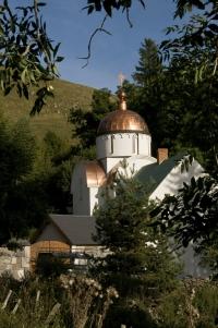 L'église du monastère de Notre Dame du Signe à Marcenat